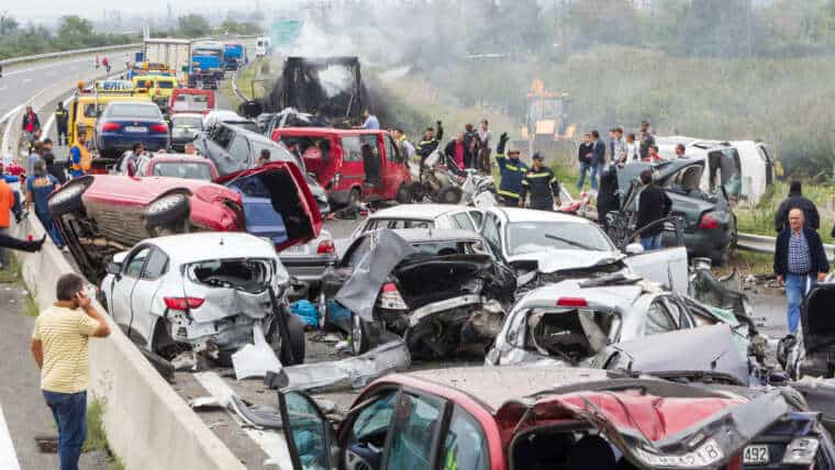 Who's to Blame When It Comes to Multi-Vehicle Accidents?